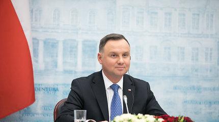 Punsko lietuviai iš Lenkijos prezidentu perrinkto A.Dudos tikisi proeuropietiškumo