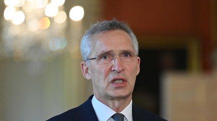 J.Stoltenbergas: NATO durys atviros Ukrainai ir Sakartvelui