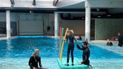 Delfinų terapijos centras plečiasi, tačiau laukiančiųjų eilė – metams į priekį