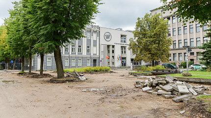 Atgimimui ruošiasi dar viena Kauno erdvė – prasidėjo Studentų skvero rekonstrukcija