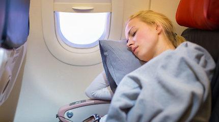 Gripo sezonas – ir kelionėse lėktuvu: specialistų patarimai, kaip nesusirgti