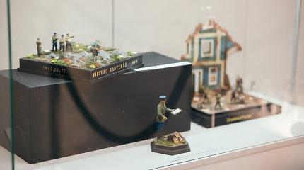 """Vytauto Didžiojo karo muziejuje – paroda """"Platus miniatiūrų pasaulis"""""""
