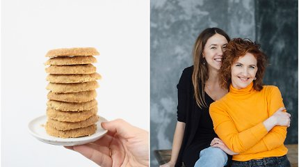 FeedMySister receptas: lazdyno riešutų sausainiai vos iš 4 ingredientų
