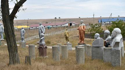 Ukraina nugriovė šimtus Vladimiro Lenino statulų: bet kas iškils jų vietoje?