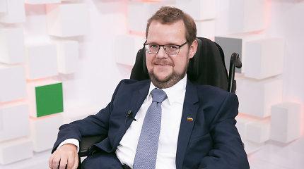 Seimo narys Justas Džiugelis – saviizoliacijoje
