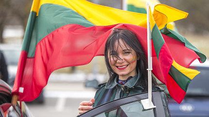 Pamatykite: Kovo 11-osios važiuotynės iš daugybės Lietuvos miestų