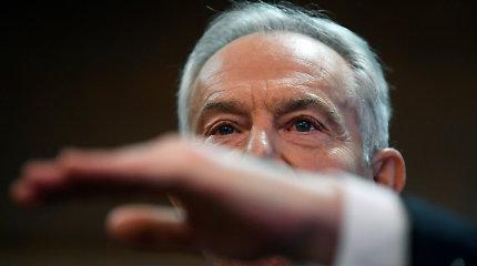 """T.Blairas dėl leiboristų pralaimėjimo kaltina """"pseudorevoliucinį socializmą"""""""