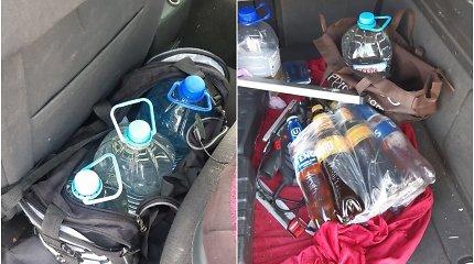 """Šilutės rajono pareigūnams per """"Opel"""" vairuotojo patikrą pravertė uoslė: pajuto specifinį kvapą"""