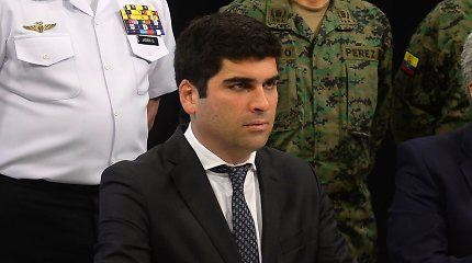 Ekvadoro viceprezidentas atsistatydino likus aštuoniems mėnesiams iki rinkimų