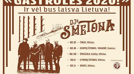 DJs Smetona rengia gastroles, kurių metu į šokių aikšteles vilios kruopščiai atrinkta lietuviška muzika