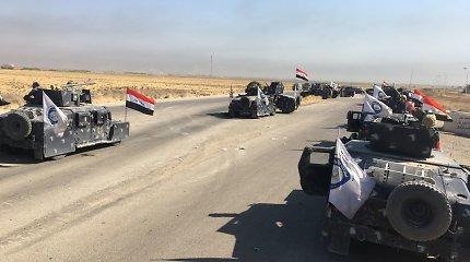 Irako prezidentas dėl Kirkuko puolimo kaltina kurdų referendumą