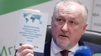 Prisišnekėjo: Rusija atleido antidopingo agentūros vadovą