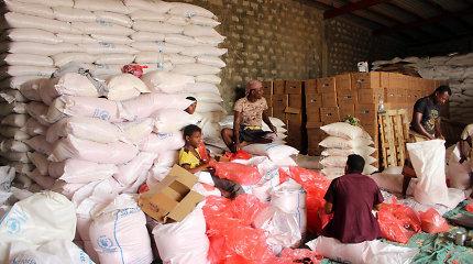 JT susitarė su Jemeno sukilėliais dėl maisto siuntų atnaujinimo