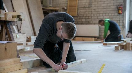 Ypatinga mokykla šalia Trakų: sėkmingai amato išmoksta tie, kuriems kitur nėra vietos