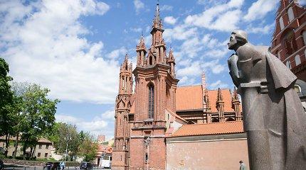 Du skverai Vilniaus centre ir Senamiestyje bus pavadinti žymių poetų vardais