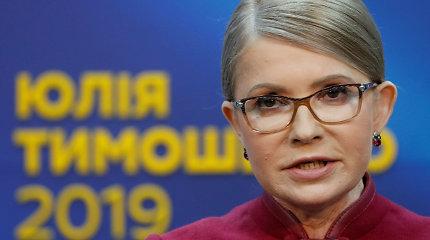 J.Tymošenko neskųs teismui pirmojo Ukrainos prezidento rinkimų turo rezultatų