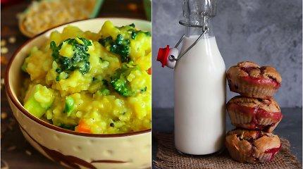 auGalingas iššūkis: indiškas troškinys su daržovėmis ir keksiukai su braškėmis