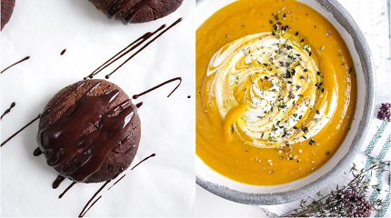 auGalingas iššūkis: trinta morkų ir lęšių sriuba, minkšti datulių sausainiai