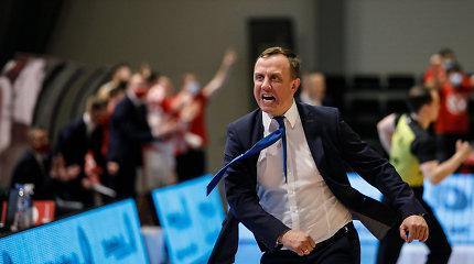 LKL sezono treneriu išrinktas M.Šernius norėtų tęsti darbus Prienuose