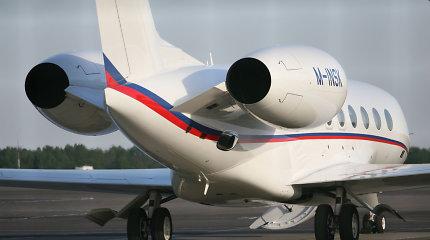 Dėl uždaryto oro kelio tarp Ukrainos ir Rusijos – apylanka rusų ir ukrainiečių oligarchams Vilniuje