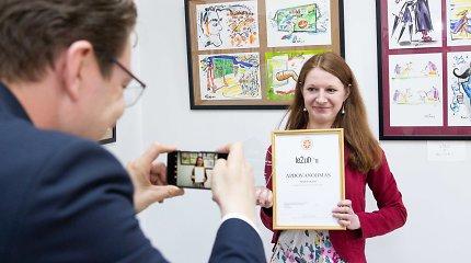 15min žurnalistei Birutei Davidonytei – Vilniaus universiteto apdovanojimas už žurnalistinius tyrimus
