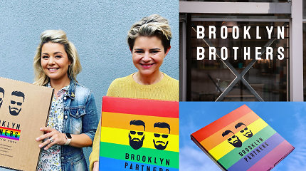 """B.Nicholson šeimos picerija tapo """"Brooklyn Partners"""", siūlo partnerystės picos dydį"""