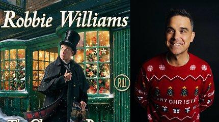 Robbie Williamsas išleido dainą, skirtą neįprastoms 2020-ųjų Kalėdoms: išgirskite