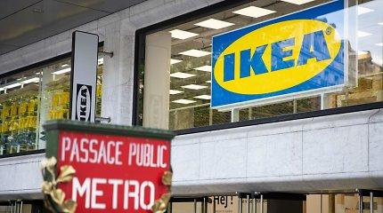 """""""Ikea"""" Paryžiuje atidarė """"miesto centro"""" koncepcijos parduotuvę"""