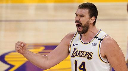 """""""Lakers"""" paleidžia Marcą Gasolį: po mainų karjera NBA baigta?"""