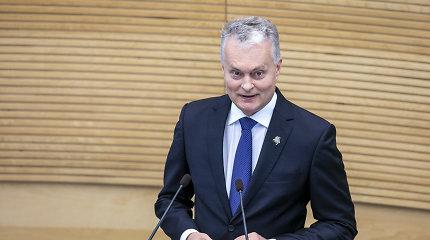 G.Nausėdos pranešimo analizė: tradicinis, bet lyderystės ir aiškumo maža, jaudulys kalbant dviem temomis