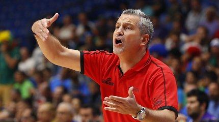 Dėl įsipareigojimų rinktinėje I.Zourosui užsivėrė FIBA Čempionų lygos nugalėtojų durys