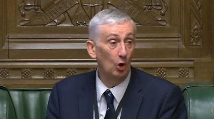 Kas pretenduoja užimti JK Bendruomenių Rūmų pirmininko postą?