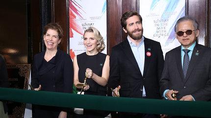 Jake'as Gyllenhaalas atidarė naują teatrą Brodvėjuje