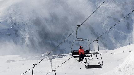 Slovakijos Aukštuosiuose Tatruose per sniego griūtį žuvo du lenkų slidininkai