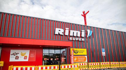 """""""Rimi"""" plečiasi rajonuose: Galgiuose duris atvėrė nauja parduotuvė"""