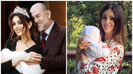Su rusų gražuole išsiskyręs buvęs Malaizijos karalius nepripažįsta sūnaus: įtaria, kad vaikas ne jo