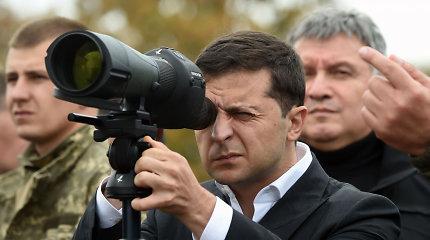 Steinmeierio formulė: ar Rusija apsuks aplink pirštą nepatyrusį Volodymyrą Zelenskį?