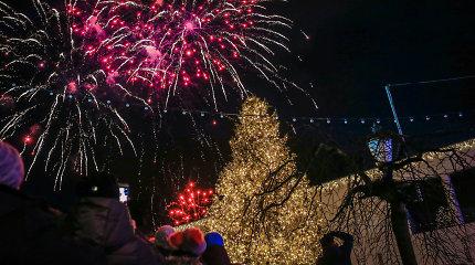 Naujųjų metų sutiktuvės Klaipėdoje: su pačiūžomis ir fejerverkais