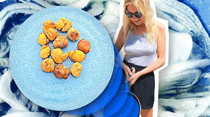 """""""Karantino kuchnia"""": kūčiukai tiems, kas nekenčia kūčiukų – su parmezanu ir paprika"""