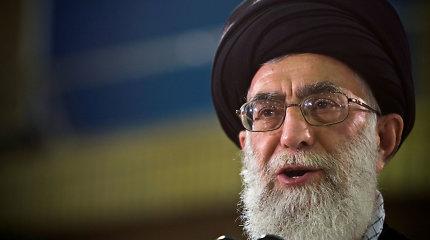 Irano aukščiausiasis lyderis kilus krizei vadovaus penktadienio maldoms