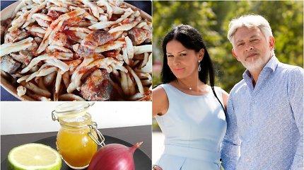 """Vakarienė pas Jurgą ir Paulių. Kalabrijos delikatesai: """"pasta filea"""", violetiniai Tropėjos svogūnai, bergamotės"""