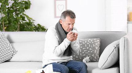 Gripas, peršalimas ar koronavirusas: panašūs simptomai gali suklaidinti