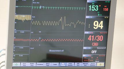 Kauno klinikose medikai kovoja dėl COVID-19 sergančio naujagimio gyvybės