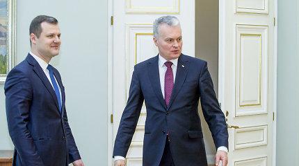 G.Nausėda ragina likusį laiką iki rinkimų partijas telktis konstruktyviam darbui