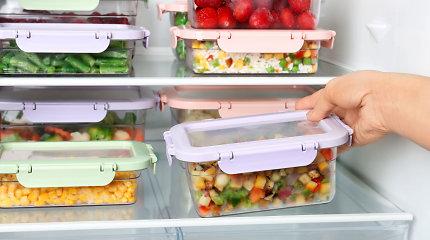 Skaidrios dėžutės – išeitis, kad nereikėtų išmesti po švenčių likusio maisto