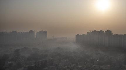 Indijoje prasidėjus žemės ūkio atliekų deginimui į sostinę sugrįžo smogas