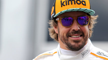 Ką 2019 m. veiks Fernando Alonso?