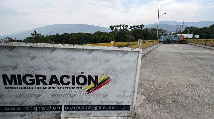 Venesuela sulaukė pirmos Raudonojo Kryžiaus pagalbos siuntos