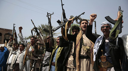Jemeno sukilėliai pranešė planuojantys nutraukti visus išpuolius prieš Saudo Arabiją