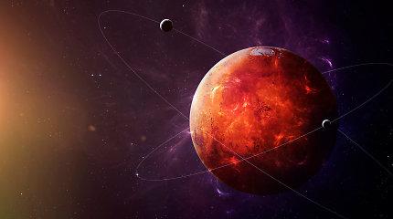 Ar žmonėms bus saugu skristi į Marsą?